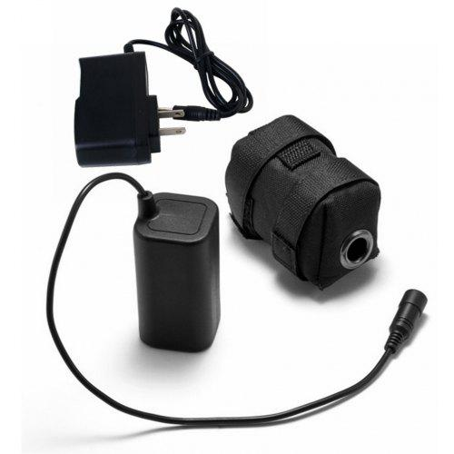 Waterproof 5200mAh 8.4V Rechargeable Battery Pack For Headlamp Bicycle Bike Lamp