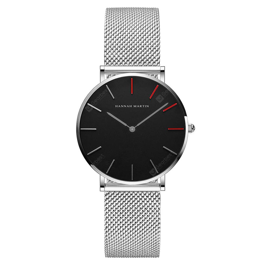 Original Design Stainless Steel Mesh Band Waterproof Women Watch
