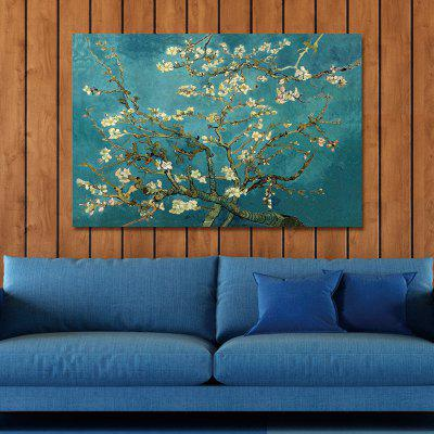 Blossoming Almond Tree Chinese Plant Flowers Print Art
