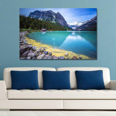 WP6WFJ4T Photography Blue Sea Blue Sky Print Art