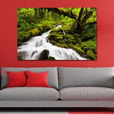 WPBWK4LG Photography Mountain Stream Scenery Print Art
