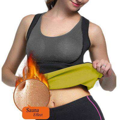 Vrouwen Hot Sweat Neopreen Gewichtsverlies Body Shaper Afslanken Sauna Vest