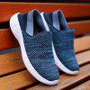 Men Outdoor Mesh Breathable Shoes - BLUE