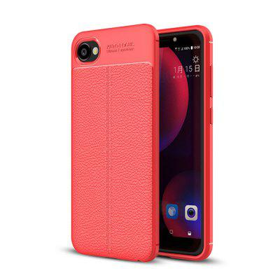 Case for HTC Desire 12 Shockproof Back Cover Solid Color Soft TPU