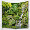 Pond Waterfall 3D Printing Home Wall Hanging Tapestry for Decoration - MULTI-A