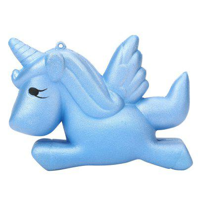 Jumbo Squishy Slow Rising Unicorn Doll Kawaii Squishies Soft Charms Wisiorki Toy