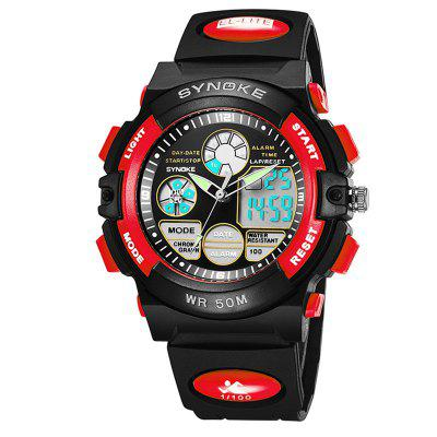 SYNOKE Multi-Functional Student Movement LED Watch Waterproof