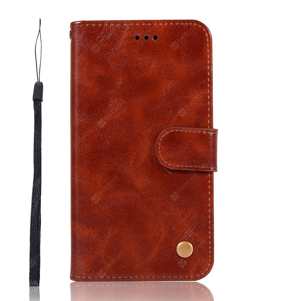 Fashion PU Flip Wallet Leather Cover For Motorola Moto E5 Play Phone Case
