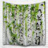 Birch Forest 3D Printing Home Wall Hanging Tapestry for Decoration - MULTI-A
