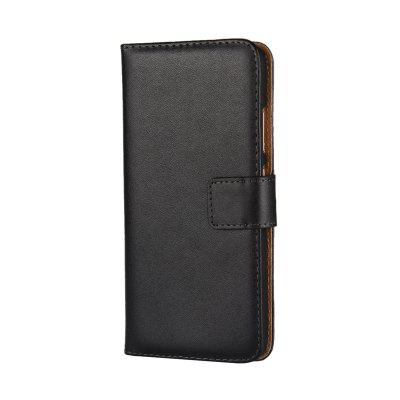 Cover Case for Huawei P10 Flat Two Layers of Cowhide Leather
