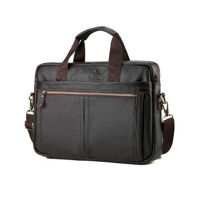 Briefcase Travel Shoulder Bags Genuine Leather Handbag