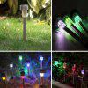 BRELONG LED Solar Lawn Light for Outdoor Garden  5PCS - WHITE