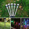 BRELONG LED Solar Lawn Light voor Outdoor Garden 10PCS - WIT