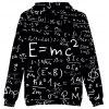 2018 New Equation Print 3D Hoodie - MULTI-A