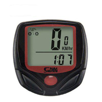 SunDing Bicycle Computer Odometer Bike Cycling Meter Speedometer