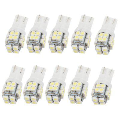 T10 20SMD 3528 Lampe à LED de Coin de Plaque d'Immatriculation de Voiture 10PCS