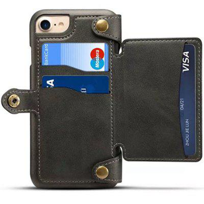 for iPhone 6 / 6s Case Detachable Zipper Wallet Leather Cover with Card Slots for alcatel 1c wallet with case kickstand feature card slots
