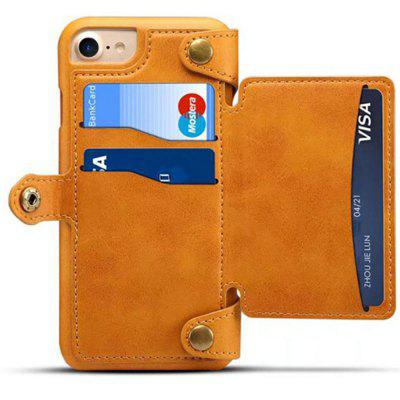 for  iPhone 6 / 6s Case Detachable Zipper Wallet Leather Cover with Card Slots