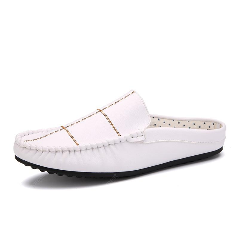 Men High Quality Summer Fashion Loafer Style Slippers
