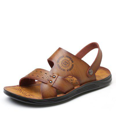 Men Fashion Solid Summer Sandals