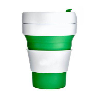 Portable Silicone Telescopic Kettle Cup for Outdoor Travel