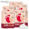 BIOAQUA Honey Quintessence Foot Membrane 10pcs - TIGER ORANGE