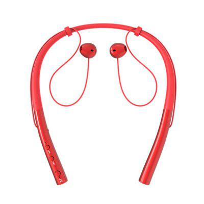 Fitness Sport Bluetooth Neckband Headset with Microphone Music Long Standby Time