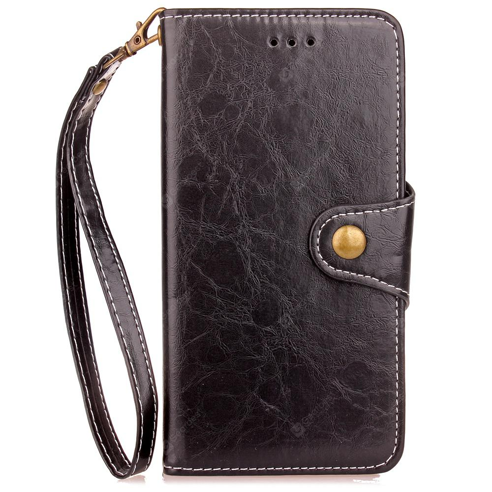 Retro Business Leather Jacket and Buckle Card Holder TPU for Sony ...