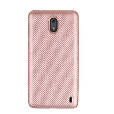 Cover Case for Nokia 2 Carbon Fiber General Silicone Rubber Soft TPU