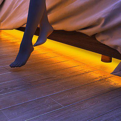 BRELONG LED Human Bedside Sensor Light Strip voor Bedroom Bed