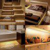 LED Human Bedside Sensor Light Strip for  Bedroom Bed - WARM WHITE