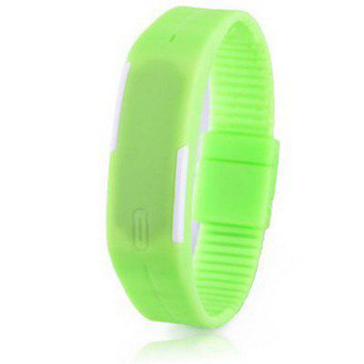 Fashion Sport Casual Silicone Digital Bracelet Watch