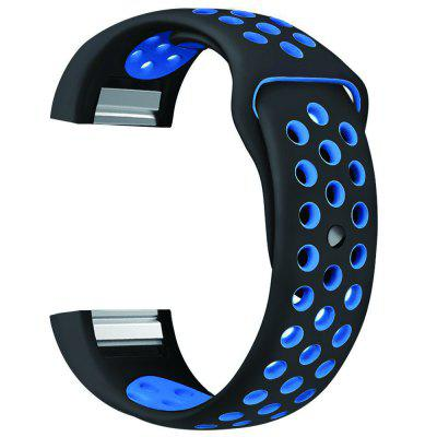Colorful Band for Fitbit Charge 2 Sport Silicone Band Wrist Strap replacement luxury silicone watch band wrist strap for fitbit charge 2 bracelet 580287