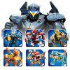 418PCS Sluban Building Blocks Educational Kids Toy Pacific Rim Transformer 6 Set - MULTI-A