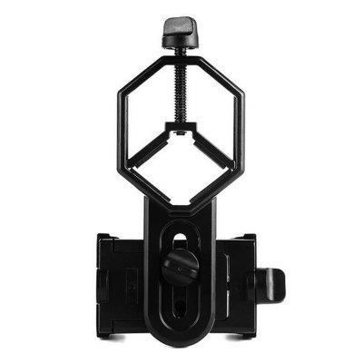 Adapter Mount Microscope Spotting Scope Telescope Clip Mobile Phone Holder 8x zoom optical mobile phone telescope camera white