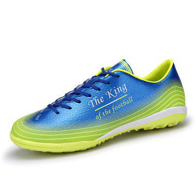 Men Colorful Crushed Spike Football Shoes