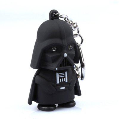 LED Light with Sound PVC Action Figures Toy Children Kids