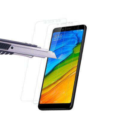 2PCS Screen Protector for Xiaomi Redmi Note 5 High Clear Premium Tempered Glass