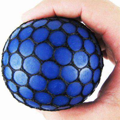 Jumbo Squishy Soft Rubber Grape Ball Hand Wrist Squeeze Toy