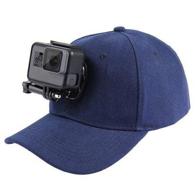 PULUZ Baseball Hat with Holder Mounts for GoPro / Xiaoyi and Other Action Camera