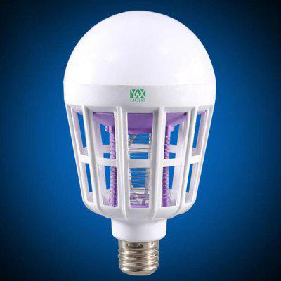 YWXLight E27 LED Mosquito Killer Lamp Bulb e27 15w 2u uv curing light sterilization disinfection mosquito killer light bulb 220v