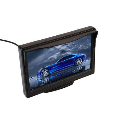 SpedCrd  5 Pollice Car Rear View Monitor TFT LCD A Color Display