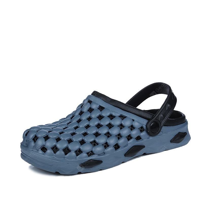 ZEACAVA Summer Male Sandals Hole Shoes Slippers
