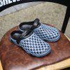 ZEACAVA Summer Male Sandals Hole Shoes Slippers - SLATE GRAY