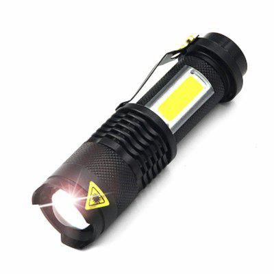 Portable Ultra Bright Waterproof Aluminum Alloy Mini LED Flashlight long range led flashlight mini pocket handy ledtorch best gift present for kids children waterproof aluminum alloy light