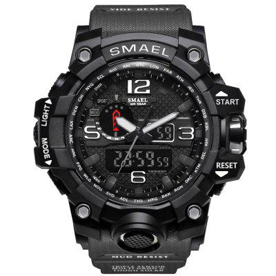 Heren sport horloges LED digitale klok Fashion Casual horloge Digitale 1545 Relogio Militar klok heren sport horloge