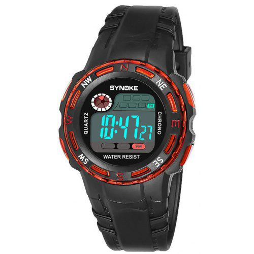 Synoke Sport Student Children Watch Kids Watches Clock Child Led Digital Wristwatch Electronic Wrist Watch Gilr Boy Gift Drop To Suit The PeopleS Convenience Children's Watches