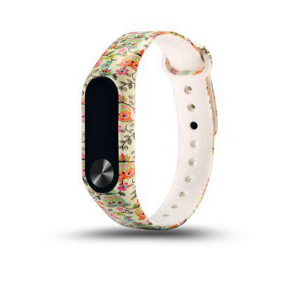 For Xiaomi Mi Band 2  Replacement Bracelet Colorful Strap Wristband