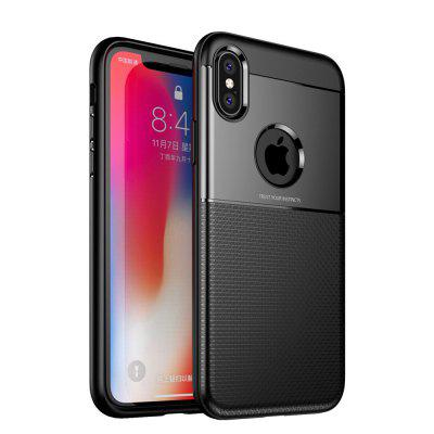 Case for iPhone X Luxury Armor TPU and PC Hybrid Phone Back Cover цена