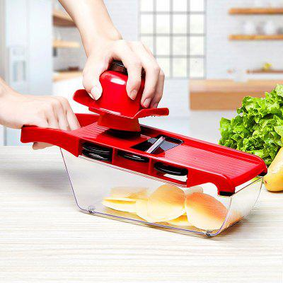 Slicer Vegetable Cutter with Stainless Steel Grater Dicer Kitchen Tool
